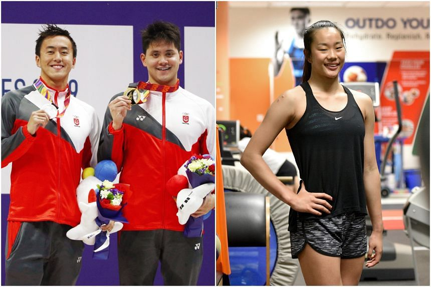 Swimmers Quah Zheng Wen and Joseph Schooling have earned their spots at the quadrennial Games along with gymnast Tan Sze En.