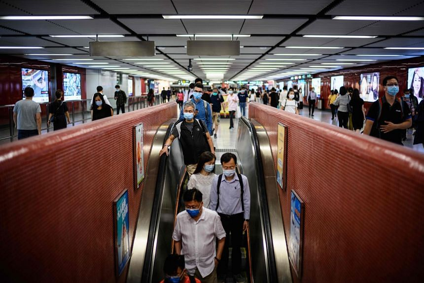 Hong Kong was on the verge of reverting to normal life.