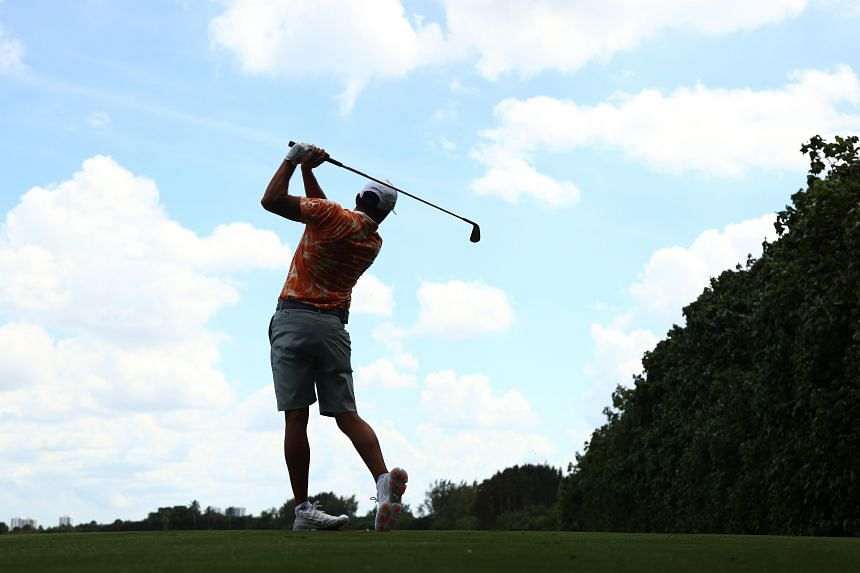 The PGA Tour said it hopes to provide results in a matter of hours and players will have access to practice areas while they await their result.