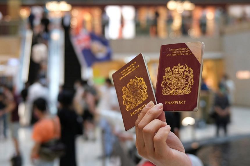 """Britain is prepared to offer extended visa rights and a """"path to citizenship"""" for British National Overseas passport holders in Hong Kong."""