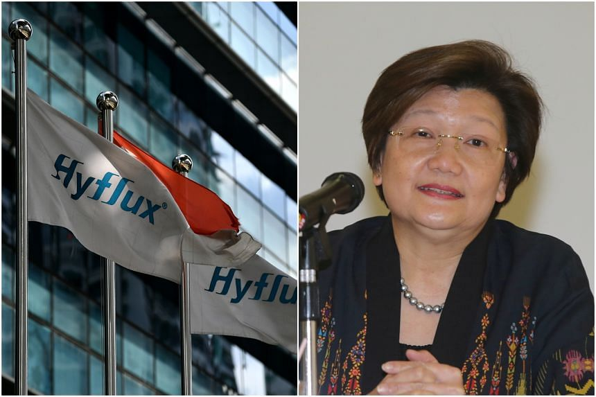 Directors involved in the probe include Hyflux's executive chairman Olivia Lum.