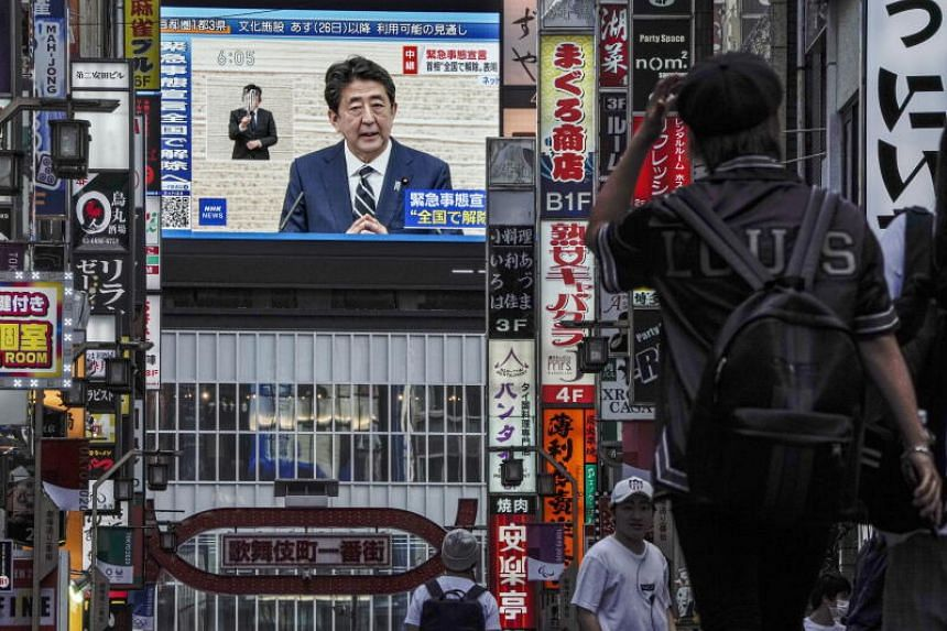 Japan's Prime Minister Shinzo Abe is caught up in a fight between his country's biggest trading partner and its sole military ally.