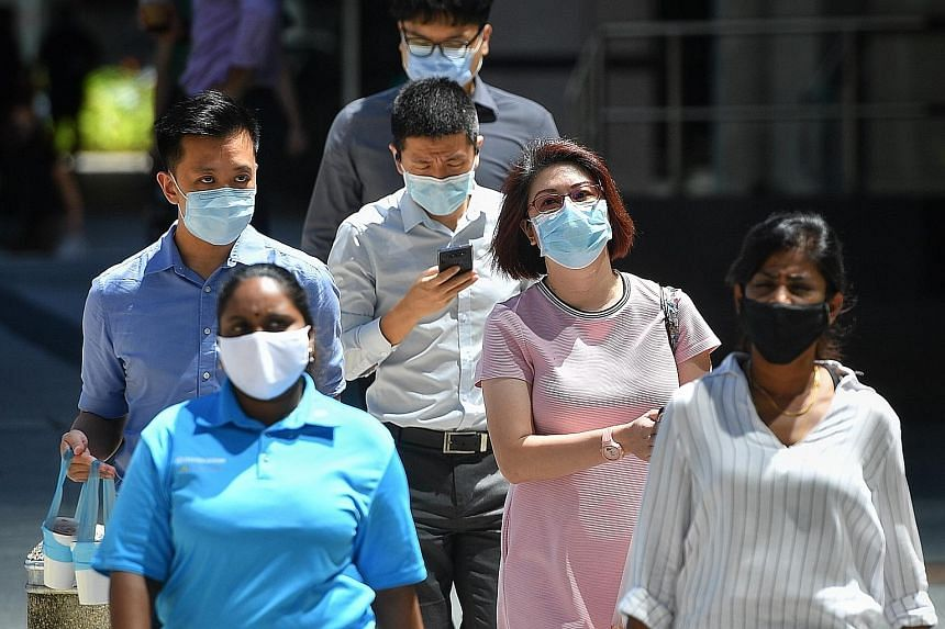 Mask wearing in public remains mandatory, so anyone commuting on public transport, going out for essential activities such as buying food or working must put on a mask.