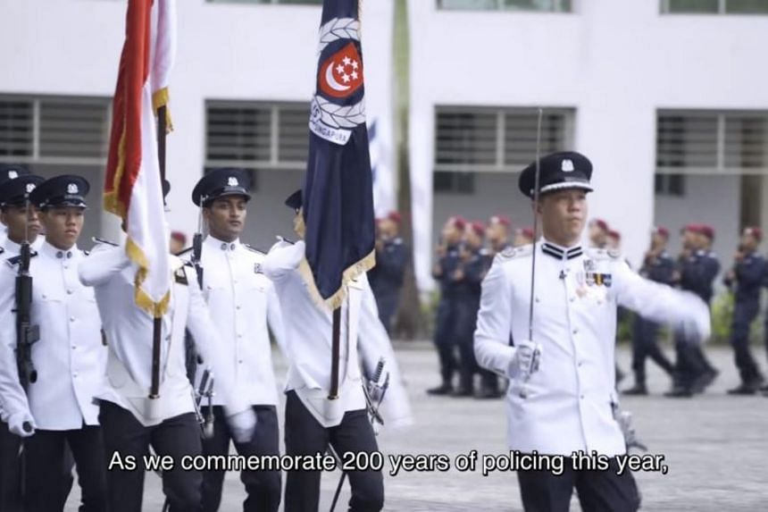 The virtual ceremony was watched by 2,500 officers.