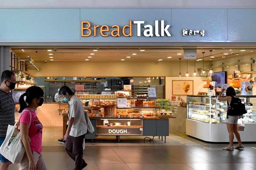 BreadTalk suspended trading of its shares on April 21.