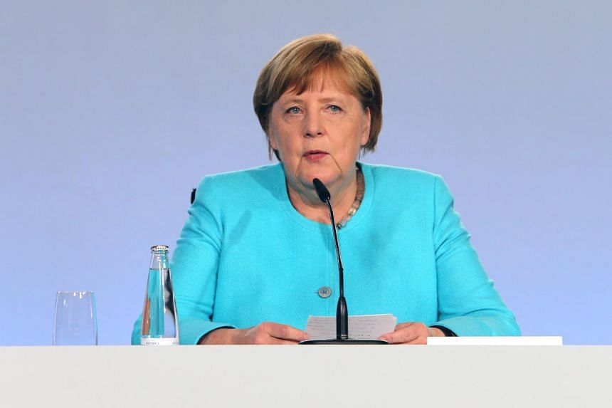 Chancellor Angela Merkel said value-added tax will be reduced for six months starting in July 1.