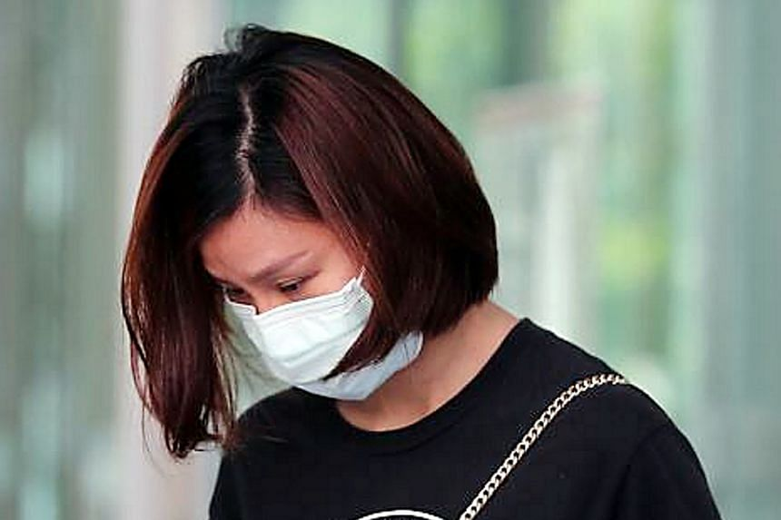 Sex worker Cheng Fengzhao, 38, was fined for allowing a regular customer to enter her home during the circuit breaker.