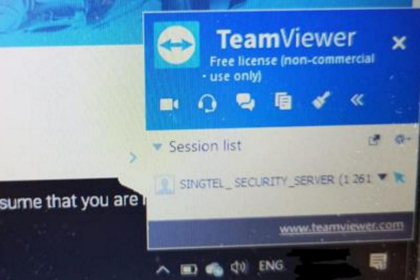 Scammers typically persuade victims to install software applications like Teamviewer or Anydesk.