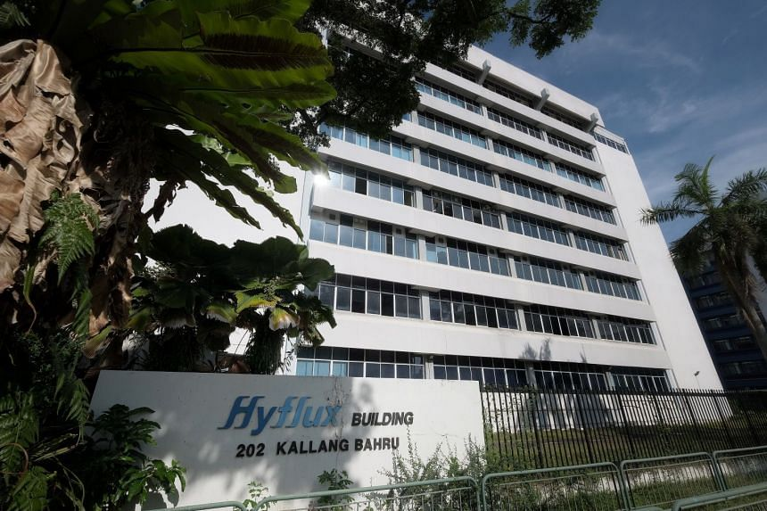 Hyflux premises in Kallang Bahru, June 3, 2020.