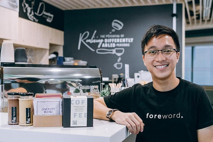 Foreword Coffee Roasters director Lim Wei Jie said sales increased tenfold after the company launched a new website in April by adopting an e-commerce development package. The local coffee chain will be receiving payouts from the Digital Resilience B