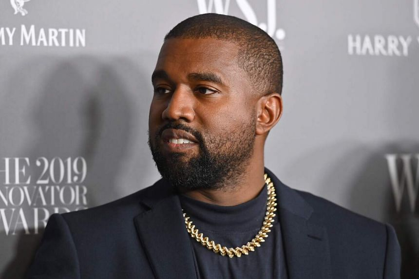 Rapper Kanye West joined the protests in Chicago on June 4, 2020.