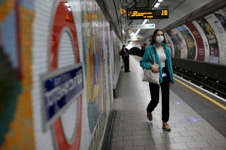 Face coverings will be mandatory on England's public transport starting June 15