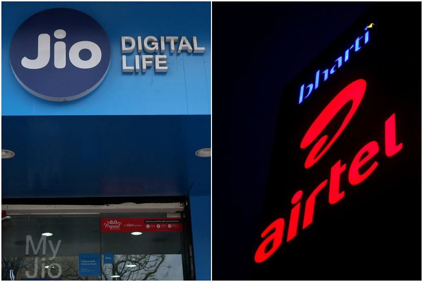 Jio and former No 1 Airtel have battled over India's telecom market since 2016.