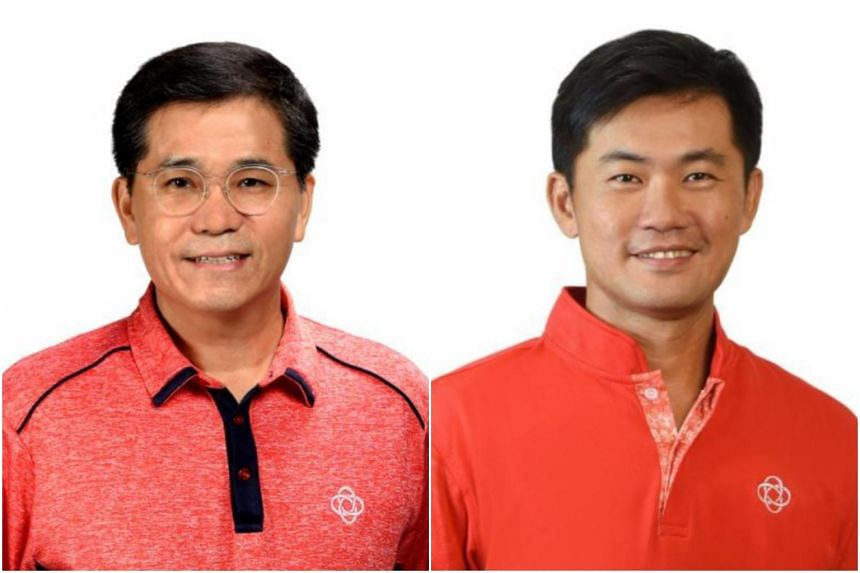 Mr Lim Hock Yu (left) will succeed Mr Desmond Tan Kok Ming (right).