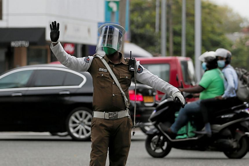 Sri Lankan police had allegedly beaten up the teen for violating a curfew.