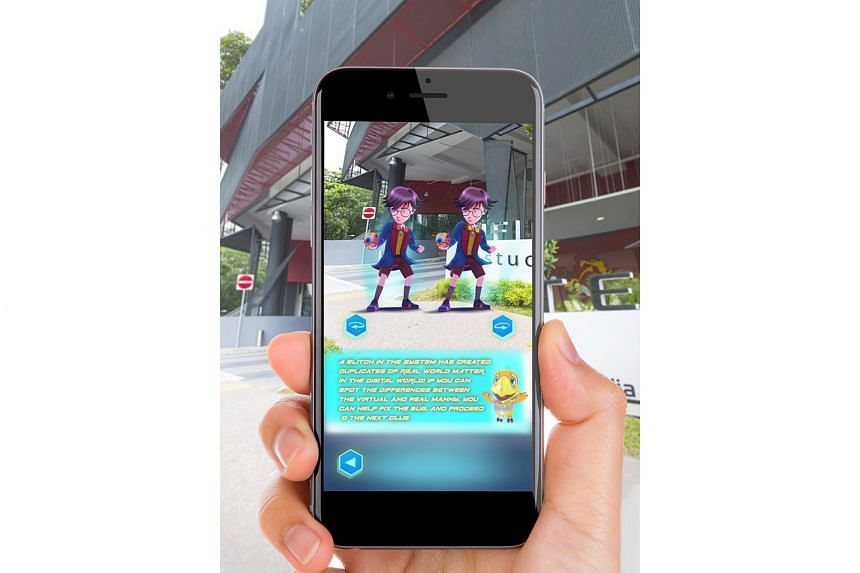 Based on the animation X-Hunters, this augmented reality game (above) was developed by Infinite Studios in partnership with Singapore tech company D.ink and in collaboration with Mediacorp. The series can be viewed on Mediacorp's meWatch.