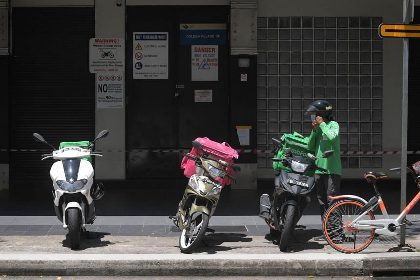 Some restaurants and hawkers are trying to reach more customers by joining multiple delivery platforms.