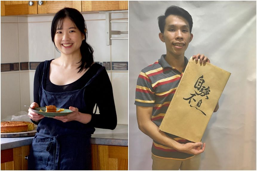 Founder of Singapore Noodles Pamelia Chia (left) and founder of Hakka Scribbles Sung Chang Da.
