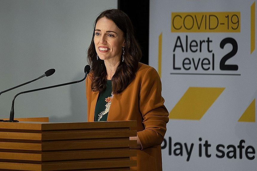 """Prime Minister Jacinda Ardern yesterday said New Zealand has """"eliminated transmission of the virus... for now"""", and that the sacrifices made by its citizens have been rewarded."""