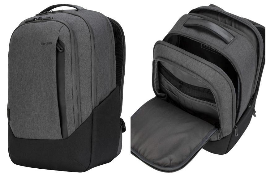 The Cypress EcoSmart Hero backpack is an eco-friendly product that is super functional.