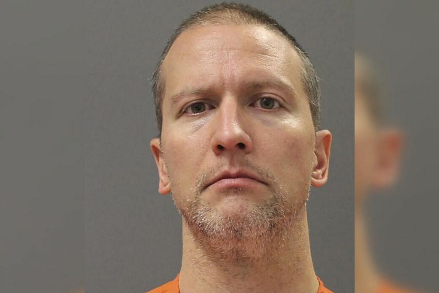 The bail was set at the first court hearing for the former police officer, Derek Chauvin.