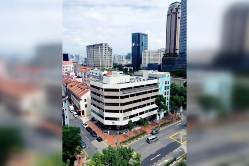 The six-storey, mixed-use development currently comprises retail, office and residential units.