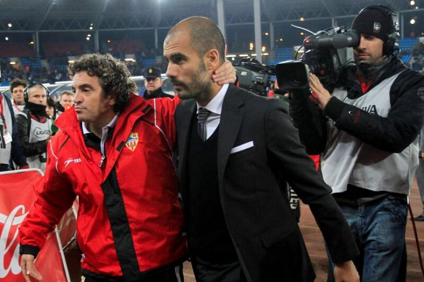 Pep appoints former boss as assistant