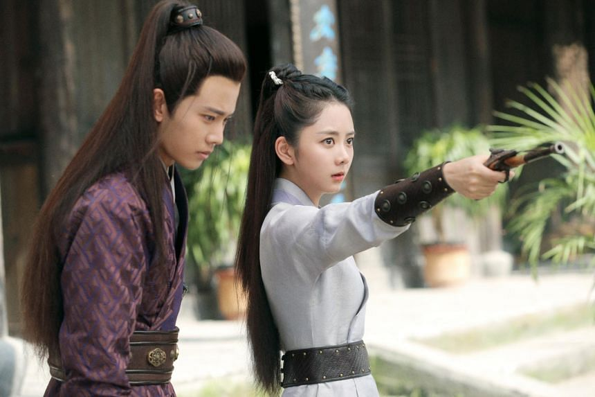 Seven Tan and Allen Ren star in Under The Power, a Chinese period drama set in the Ming Dynasty.