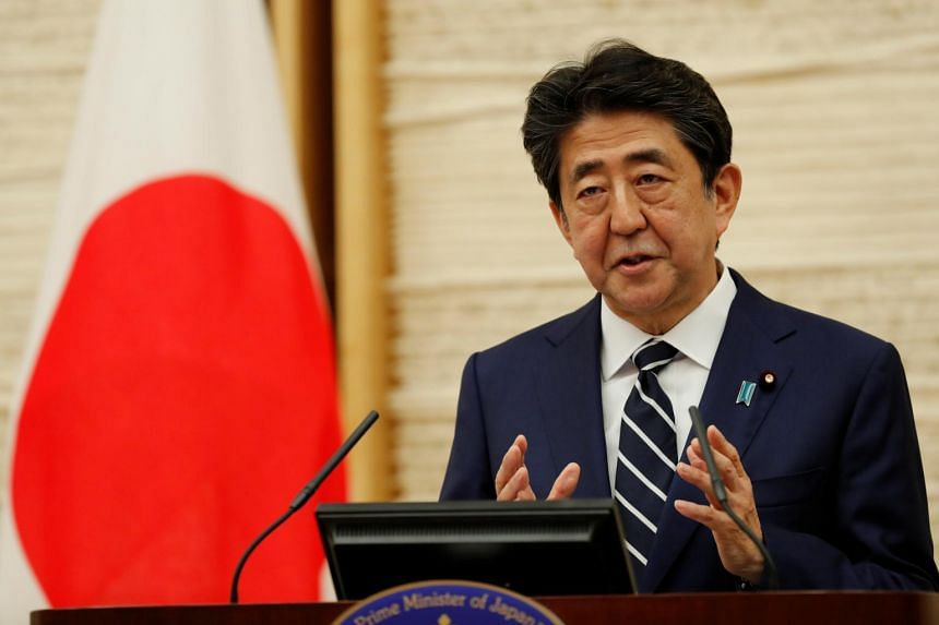 Prime Minister Shinzo Abe said Tokyo wants to take the lead among the Group of Seven nations to issue a statement about the situation in Hong Kong.