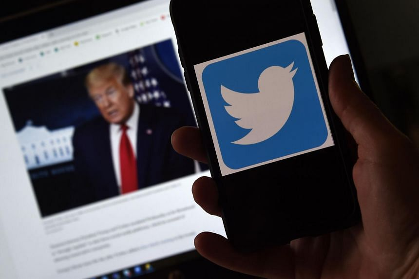 """US President Donald Trump's tweets claimed that mail-in voting would lead to a """"rigged election""""."""