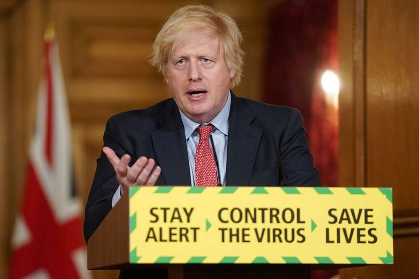 Britain's Prime Minister Boris Johnson, who contracted the virus and almost died of it, has struggled to manage the biggest crisis of his premiership.