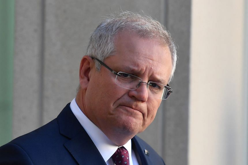 """Australian Prime Minister Scott Morrison said it was a """"ridiculous assertion"""" that China had warned against racist attacks against Asians during the pandemic."""