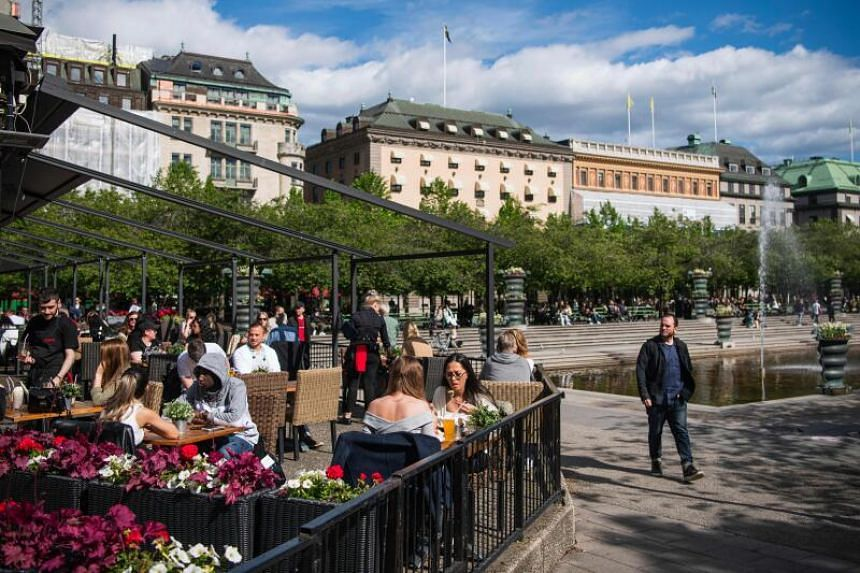 Sweden now has a total of 48,300 coronavirus infections.