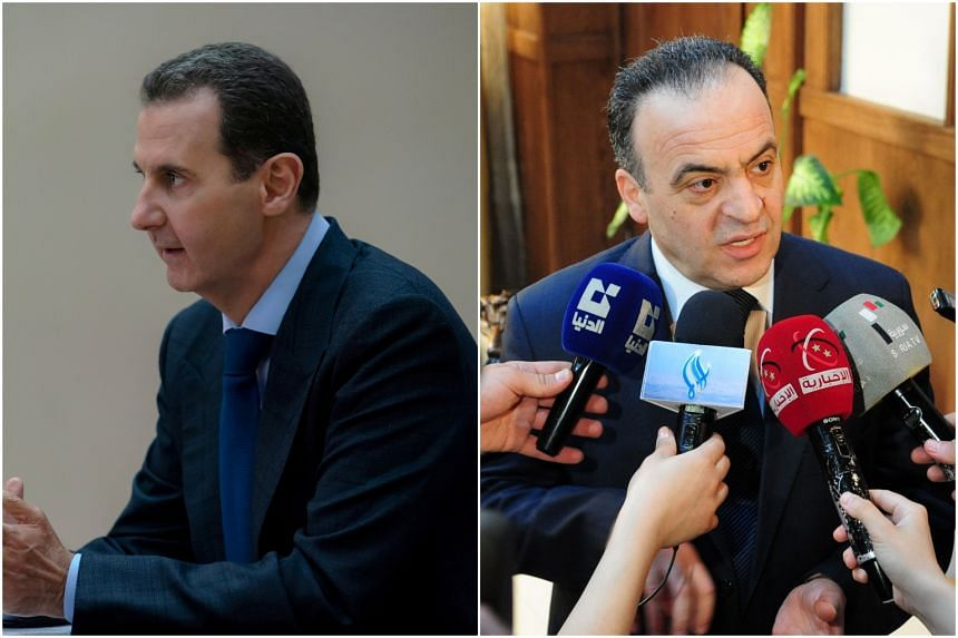 Syria's Assad sacks PM Khamis as economic crisis grows