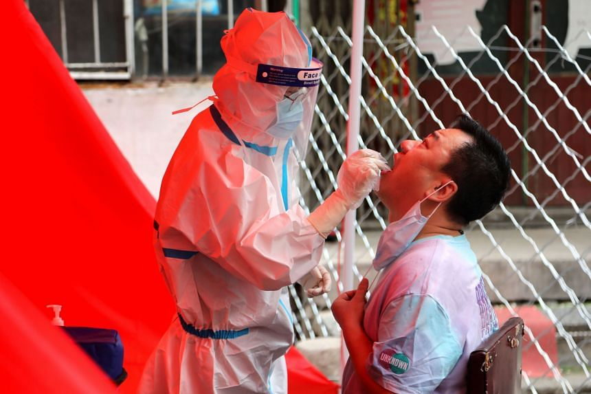 Beijing reports first new coronavirus in almost  two months