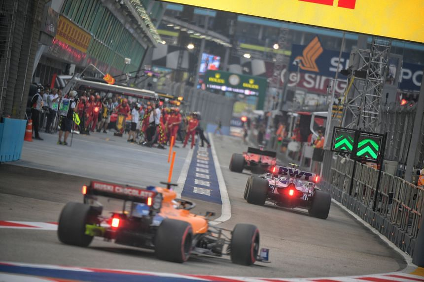 This year's Formula One Singapore Airlines Singapore Grand Prix has been cancelled.