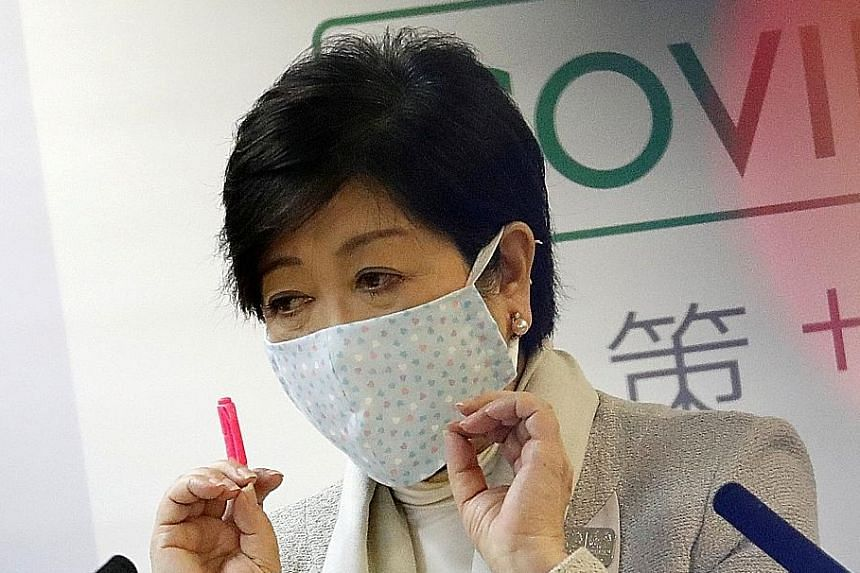 Support for Tokyo Governor Yuriko Koike has spiked recently with her efforts in containing the coronavirus.