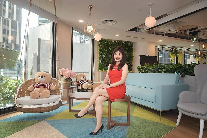 """AIA Singapore chief investment officer Liu Chunyen's strategy is to stay invested even when the market is down and remain diversified. """"You can never predict a peak or a bottom, so it's important to invest constantly based on the asset allocation,"""" s"""