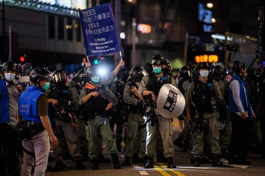 Pro-democracy activists and their supporters have expressed alarm about the security laws.