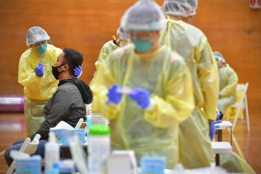 Singapore reports 463 new COVID-19 cases