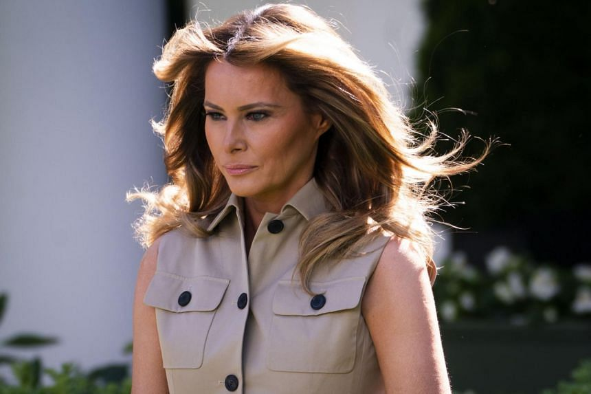 US first lady Melania Trump has been an influential adviser to her husband on certain issues.