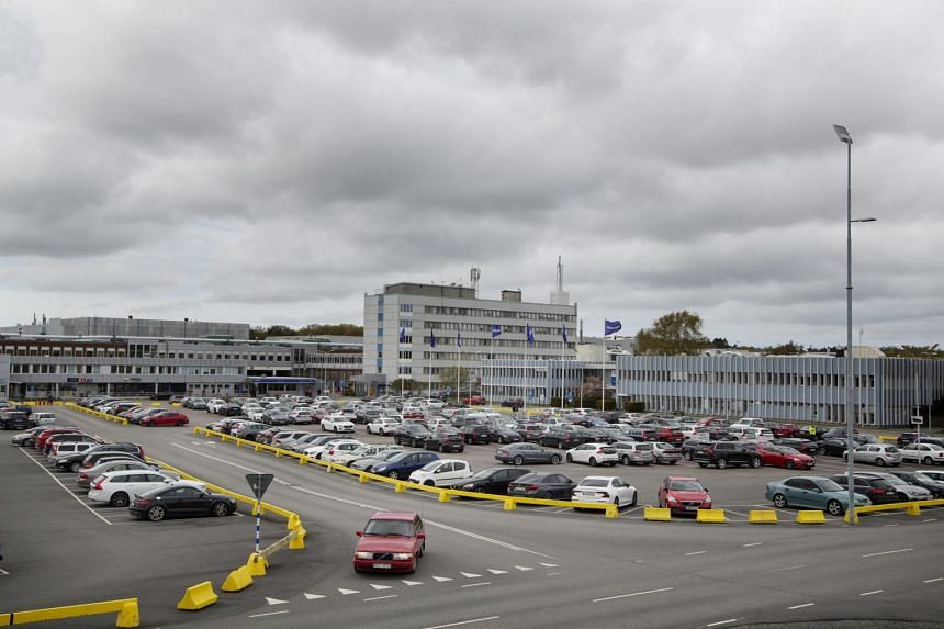 Volvo's offices and factory in Gothenburg, Sweden in May 2020.