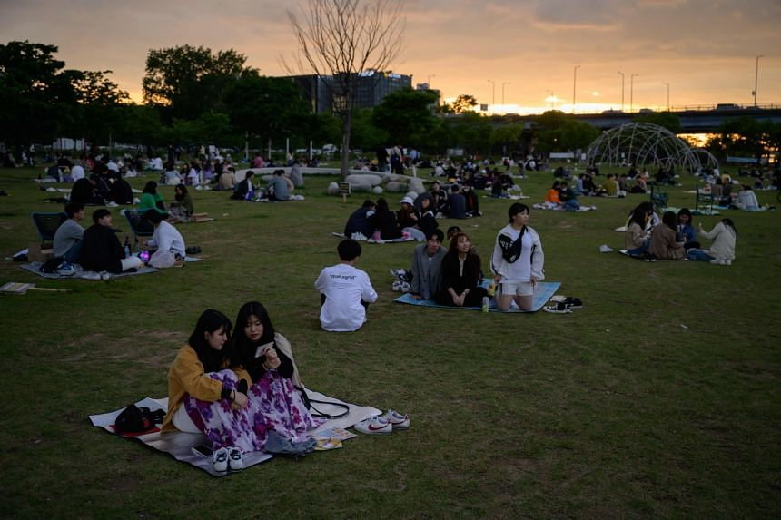 South Korean health authorities extended prevention and sanitation guidelines to protect against the coronavirus on June 12.