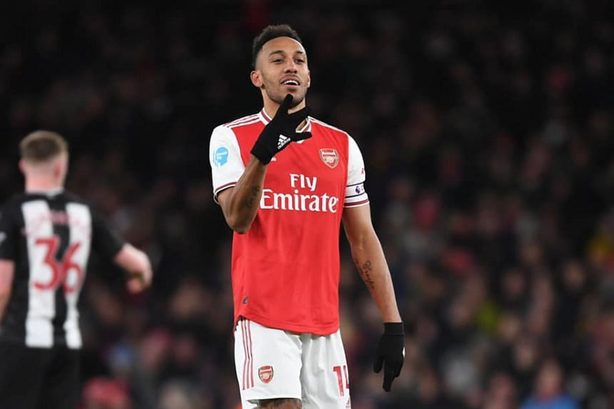 Aubameyangs Arsenal future feels 'positive' - Arteta