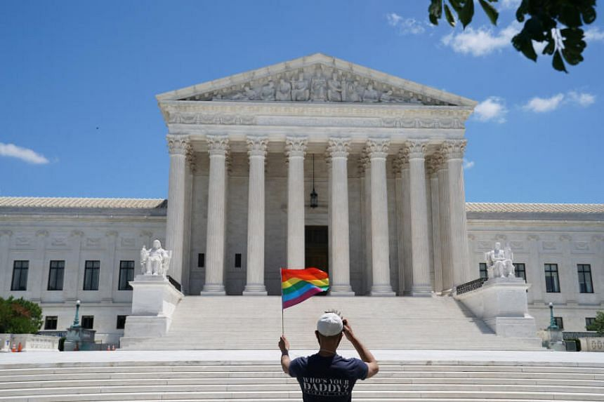 The landmark ruling represented the biggest moment for LGBT rights in the US
