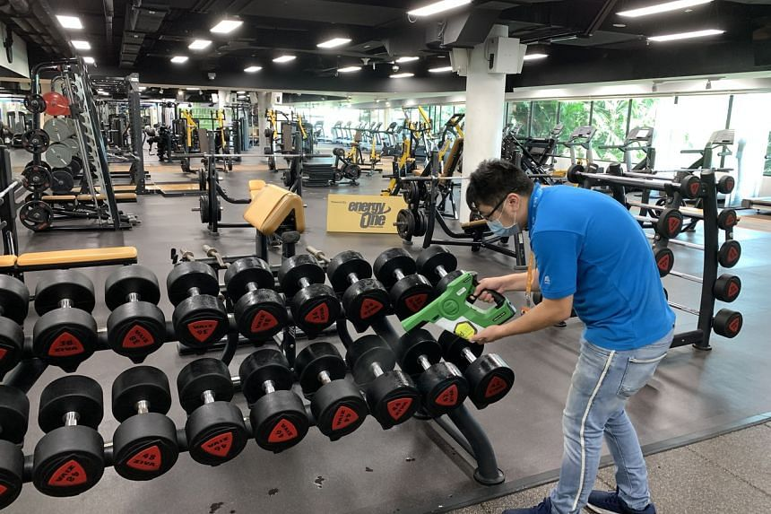 All EnergyOne gyms within Safra clubs will have self-disinfecting coating applied to equipment and commonly touched surfaces.