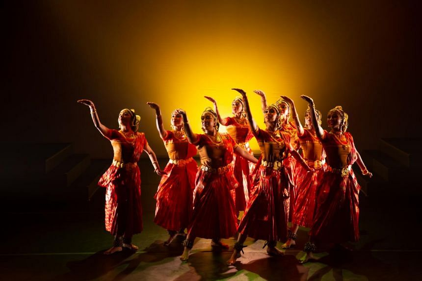 A still from last year's Marabu – The First Ripple. The concept and choreography were done by dance doyenne Santha Bhaskar.
