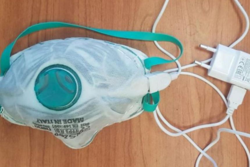 HAIFA (REUTERS) – Israeli researchers say they have invented a reusable face mask that can killthe coronaviruswith heat by drawing power from a