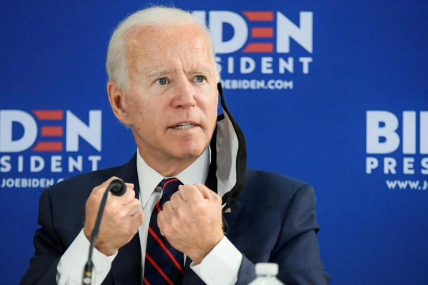 Biden's advantage is the biggest recorded by the Reuters/Ipsos poll since Democrats began their state nominating contests this year.