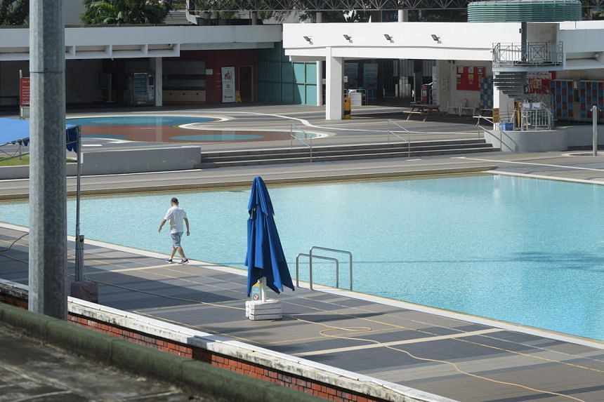 All Swimming Pools Water Fountains Must Be Disinfected And Tested Before Reopening In Phase 2 Nea Singapore News Top Stories The Straits Times